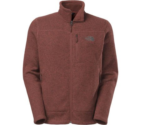 The North Face Men's Gordon Lyons Full Zip Fleece Sequoia Red Heather/Asphalt Grey XXL by The North Face