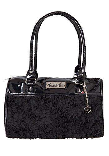 Jawbreaker-Zephyr-Black-Retro-50s-Retro-Rockabilly-Purse-Handbag