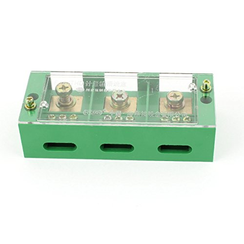 Aexit 660V 30A 3 Phase Power Distribution Block Junction Box for 9 Meters ()