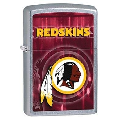 Zippo NFL Washington Redskins Street Chrome Pocket Lighter