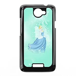 Cinderella HTC One X Cell Phone Case Black Rpccw