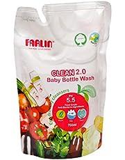 Farlin Clean 2.0 Baby Bottle Wash Refill Pack AF-10005, 700 ml