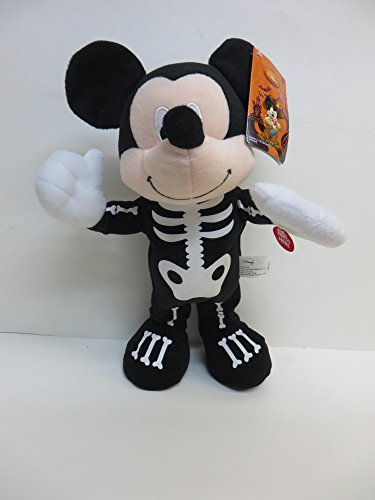 Disney Mickey Mouse Animated Musical Dancing Skeleton -
