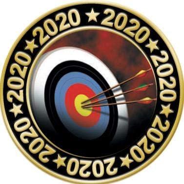 Crown Awards 1.5 2020 Archery Pin Archery Lapel Pins