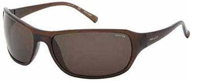 Gafas de Sol Hombre Police S1669 08YL Marrón Cerrado: Amazon ...