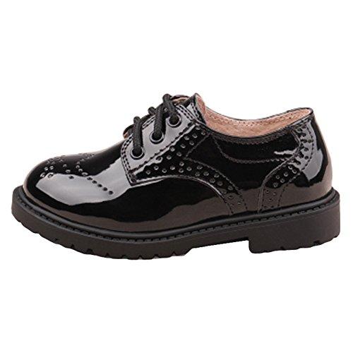 b2c02fb80 Juleya Niños Zapatos con cordones - Zapatos Oxford clásicos Zapatos de fiesta  para bodas