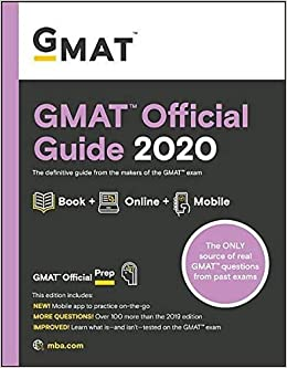 GMAT Official Guide 2020: Book + Online Question Bank ...