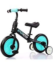 دراجة توازن هوائية للاطفال متعددة الاستخدامات من ماما ميا - لون ازرق