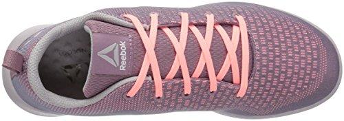 Reebok Womens Esoterra DMX Lite Track Shoe Smoky Orchid/Sour Melon/Whisper Grey GKDaT