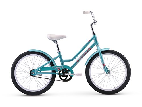 Torker Bike Wildflower Girl's Neighborhood Cruiser Bike Gree
