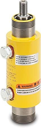 """Enerpac RD-43 Double-Acting Precision Hydraulic Cylinder with 4 Ton Capacity, Double Port, 3.13"""" Stroke Length"""
