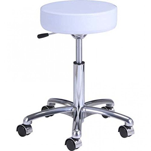 All Stool Purpose (BEAUTY SALON ALL PURPOSE ROLLING STOOL MANICURE PEDICURE TECHINICIAN STOOL DOCTOR OFFICE TATTOO STOOL WITH HEIGHT ADJUSTMENT - BABY PANDA)