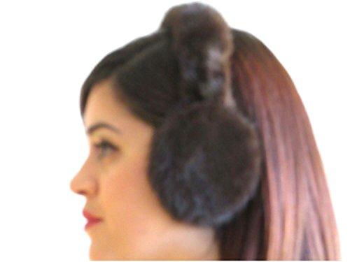 (Mahogany Mink Ear Muffs w/Fur on)
