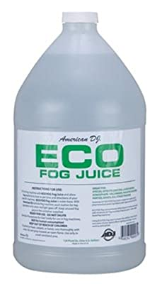 (8) AMERICAN DJ ECO-FOG/G Gallons of Fog/Smoke/Haze Machine Refill Liquid Juice by American DJ