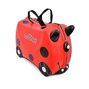 Trunki Children's Ride-On Suitcase & Hand Luggage: Harley Ladybug (Red)