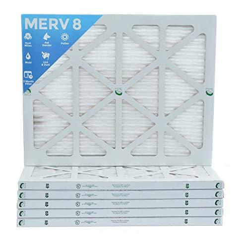 18x25x1 Merv Pleated Furnace Filters
