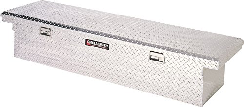 Lund 5900LP Challenger Series Brite Low-Profile Single-Lid Crossover Specialty Storage Box
