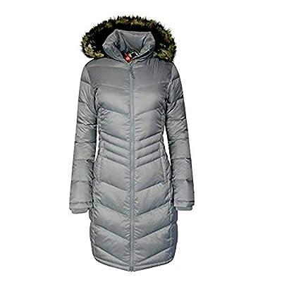 Columbia Women Polar Freeze Long Down Jacket Omni Heat Winter Coat