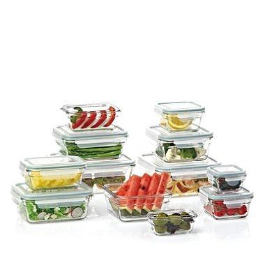 Member's Mark 24_Piece Glass Food Storage Set by Glasslock