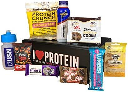 Die Fitness und Protein Box von I-Love-Protein.de