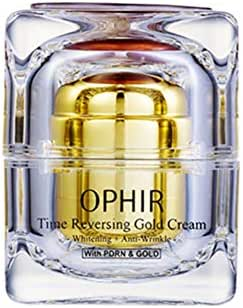 Julia OPHIR Time Reversing Gold Cream - Moisturizing Whitening Anti-wrinkle 24K Pure Gold Salmon DNA Cream