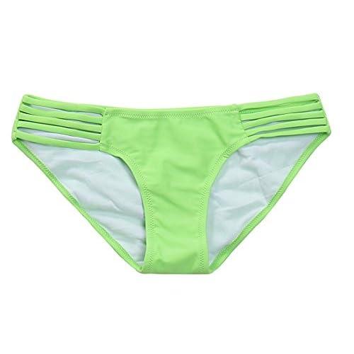 MissTalk Bas de bikini à lanières femme
