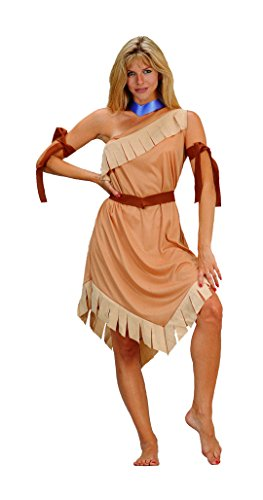 (RG Costumes Women's Pocahontas, Brown, One)