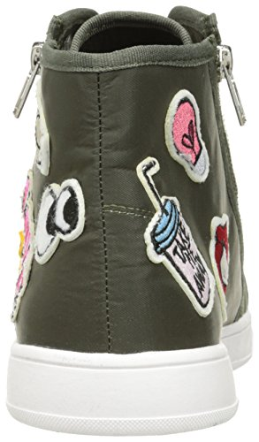 Madden Girl Mujeres Cindy Fashion Sneaker Olive Fabric