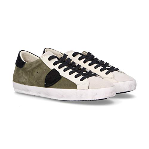 Baskets Suède Vert Homme Model Clluxy20 Philippe qIwWX1nW7