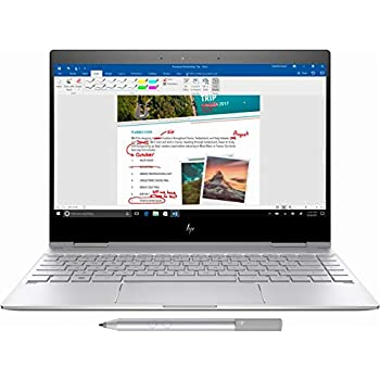 HP 2019 Newest Premium Spectre x360 13.3 Inch Touchscreen Laptop (Intel Core i7-8550U 1.8 GHz, up to 4 GHz, 256GB/512GB PCIe SSD, 8GB RAM, WiFi, Bluetooth, ...