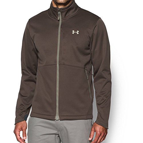 Under Armour Men's Storm Softershell Jacket, Maverick Brown/Graystone, - Maverick Free Men