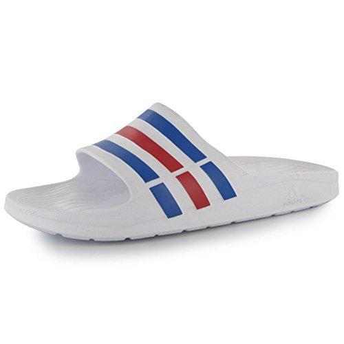 huge selection of b690d 84e4a Nuevo Adidas Duramo Slide - ChanclasSandaliasPiscinaPlaya Zapatos Blanco  Sizes6 - 14, Color Blanco, Talla 39 13 EU Amazon.es Zapatos y  complementos
