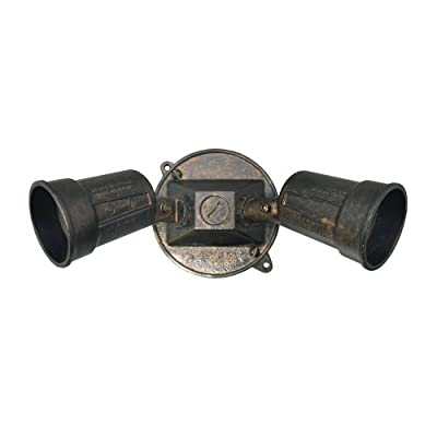 Sigma Electric 16797ORB Round Floodlight Kit, Oil Rubbed Bronze