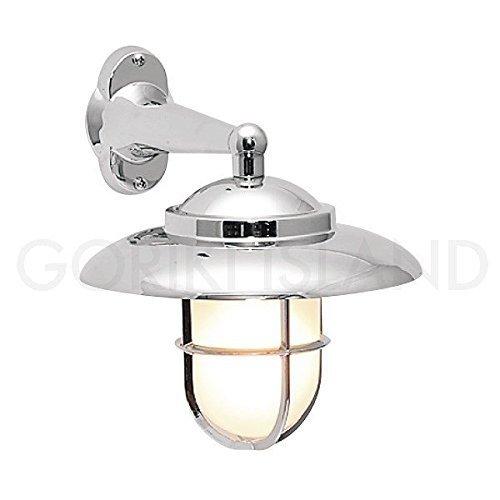 照明 エクステリアライトLED仕様 銀色 くもりガラス B01G69YAUY 23004 BR2060 銀色塗装くもりガラス BR2060 銀色塗装くもりガラス