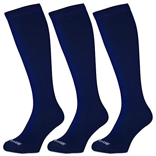 FOOTLOOSE Compression Socks for Men & Women for Running, Exercise, Athletics & Fitness Training | Helps with Shin Splints, Travel, Flights, Varicose Veins & Pregnancy | Promotes Circulation Recovery ()