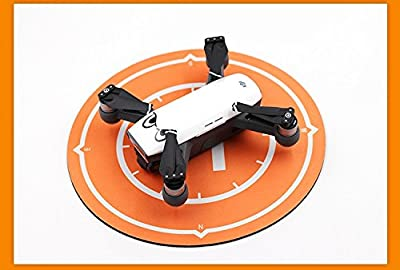 DJI Spark Fly More Combo Mini Drone Safety Bundle (Alpine White): Remote Controller, Extra Battery, Palm Landing Kit and More