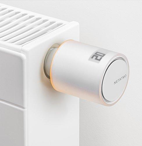 Netatmo NAV-DE - Válvula inteligente adicional para radiador, multicolor: Amazon.es: Bricolaje y herramientas