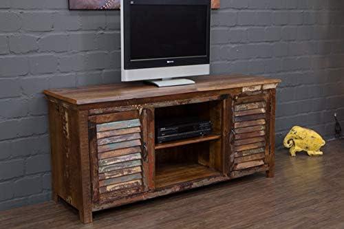 Buddha Art - Mueble bajo para televisor (Madera Maciza, Palisandro, 155 cm), Color marrón: Amazon.es: Hogar