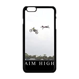 Aim High Fantastic Funny Style Hard Plastic Case Cover for Iphone 6 Plus 5.5''