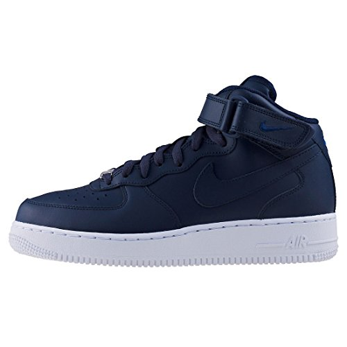 Hommes Chaussures 1 Force Nike '07 obsidienne Blanc Air Mid 315123 415 Obsidienne FdSnRq