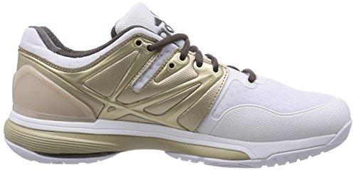 Damen Stabil4ever White Hallenschuhe Cinder Weiß F15 Metallic adidas Tech Blanc 5Tx6BR6qn