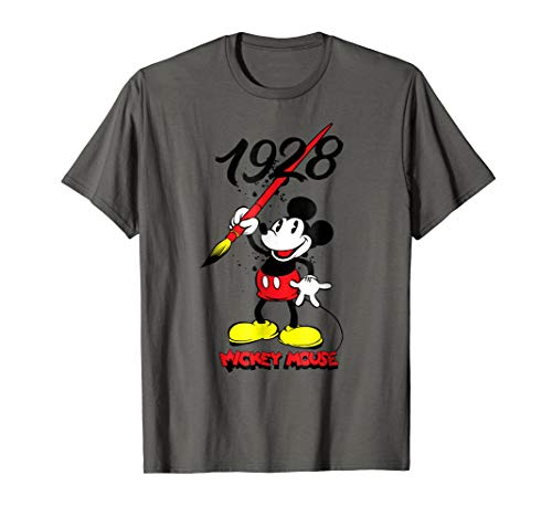 - Disney Mickey's 90th Painting Since 1928 T-Shirt