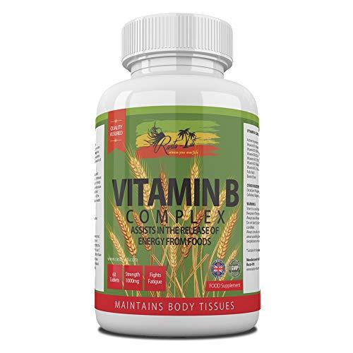 Vitamin B Complex Tablets – 8 B Vitamins per Micro Tablet – Vitamins B1, B2, B3, B5, B6, B7, B9 & B12 – High Strength…