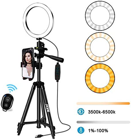 Selfie Tripod Dimmable Android Upgraded