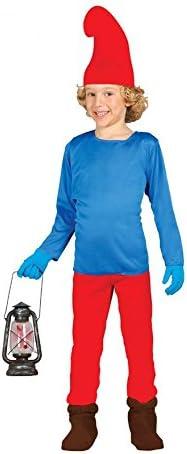 Disfraz de Papá Pitufo (7-9 años): Amazon.es: Juguetes y juegos