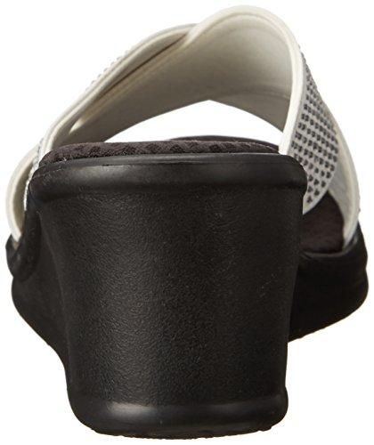 Skechers Rumblersmetal Mama - Mules Mujer Blanco - blanco (Wht)
