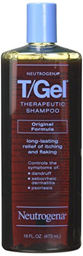 (Neutrogena T/Gel Therapeutic Shampoo Original Formula 16 oz (Packs of 3))