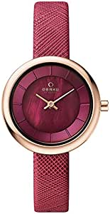 Obaku Analog Watch For Women - Leather, Multi Color - 19V146LXVQRD