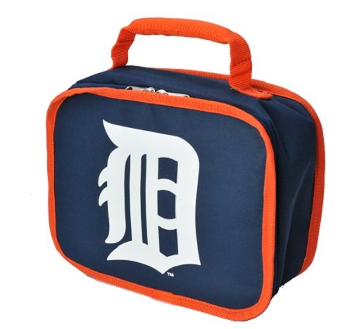 Detroit Tigers Lunch Box (Concept One Accessories MLB Detroit Tigers Lunchbox, Navy)