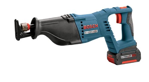 Bosch CRS180K 18-Volt Lithium-Ion Reciprocating Saw Kit with Battery, Charger, and Blade
